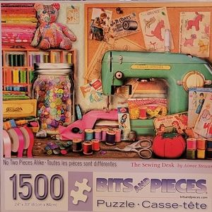 Aimee Stewart The Sewing Desk Puzzle